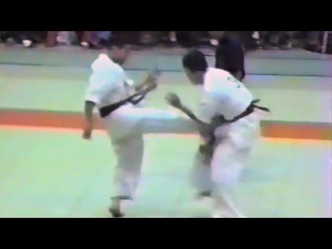 極真会館 1987年第1回京都大会(7/7)決勝戦・閉会式(kyokushin 1987 Kyoto) 滋賀空手