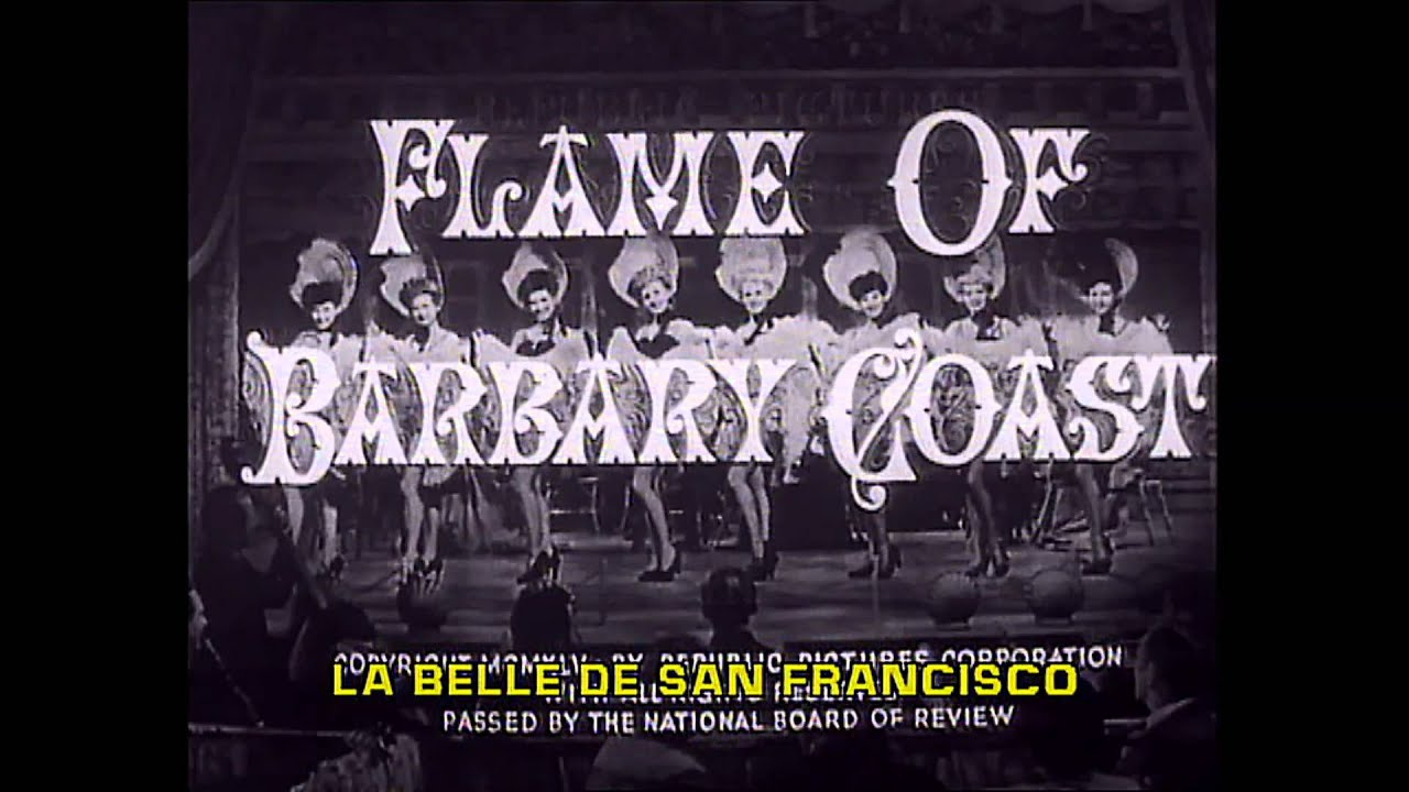 1945 - Flame Of Barbary Coast - Generic Film