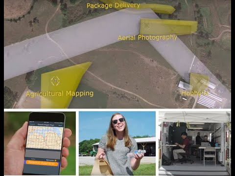 Unmanned Traffic Management System Demonstrations
