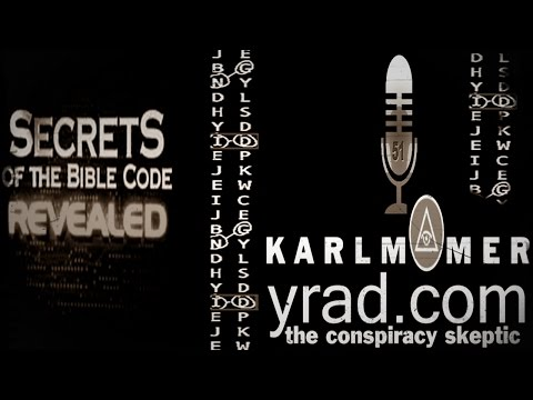 The Conspiracy Skeptic Talk Show: The Bible Code with Kyle Polich