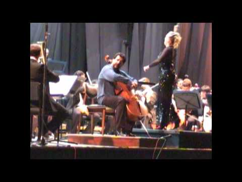 Elgar Cello Concerto - Nestor Longo (cello) - Ligia Amadio (dir.)