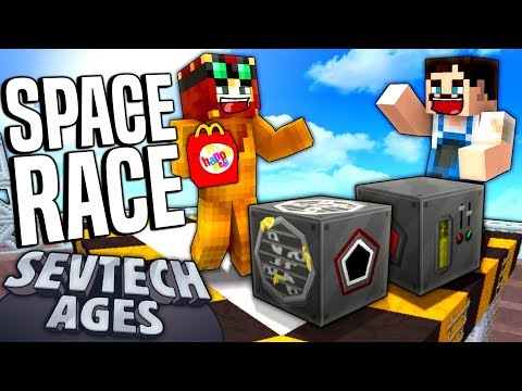 Minecraft: SevTech - SPACE RACE - Age 4 #19