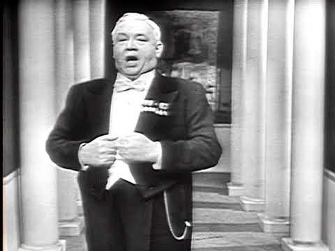 Lauritz Melchior, tenor - Wagner - Lohengrin - In fernem Land (1951 - video)