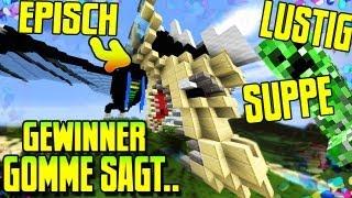 Minecraft GEWINNER GOMME SAGT - CREEPERSUPPEN 4 FREE - Spielmodus in Minecraft l GommeHD