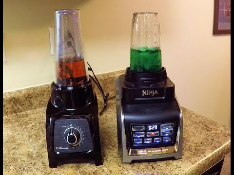 NUTRI NINJA Auto IQ Blender DUO vs. VITAMIX S30 SHOWDOWN!!!