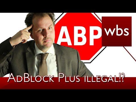 AdBlock Plus ist illegal!? | Rechtsanwalt Christian Solmecke