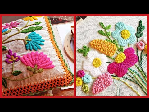 Brazilian Hand Embroidery Patterns //Vintage Hand Embroidery Patterns