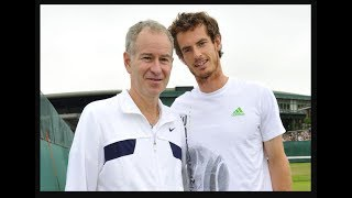 Mac vs Murray, Rock Star Saved McEnroe, Sharapova Racing
