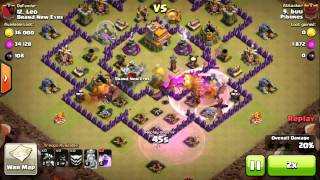 Clash of Clans - Town Hall 7 Trolling War Base