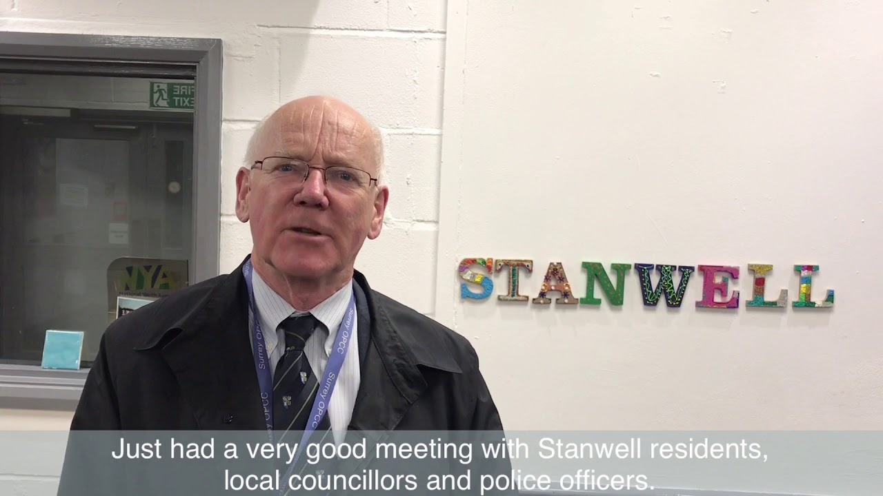 David Munro Seeks Stanwell Community Views on a Possible £500,000 Cash Injection