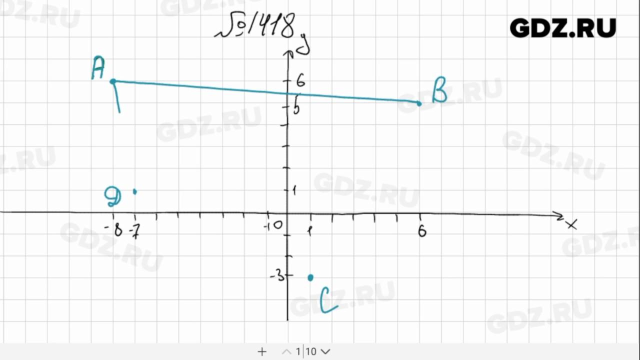 гдз по математике виленкин номер 1417 6 класс