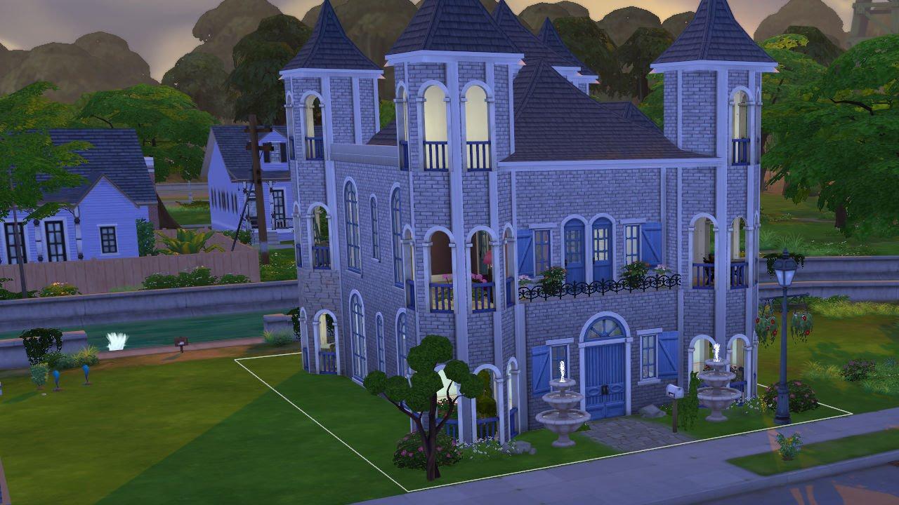 Build A Castle On Sims