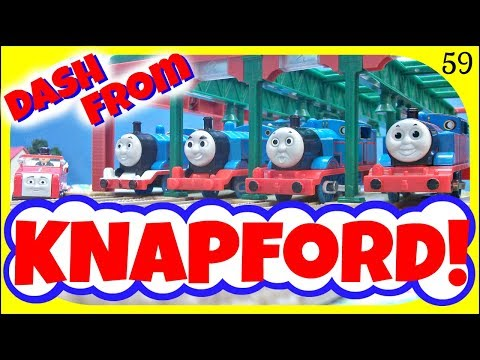 Dash From Knapford 59! Thomas & Friends TrackMaster Racing Competition! Toy Stew!