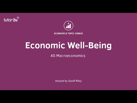 What is Economic Well-Being?