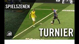 Neunmeterschießen   Arminia Bielefeld - Fortuna Köln (Spiel um Platz 3, Schauinsland Reisen Cup)
