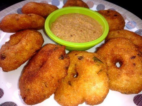 Instant Rava Vada Recipe for Breakfast and Snacks