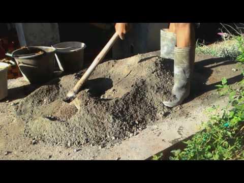 Cara membuat Adukan Semen & Pasir Supaya Bangunan Kuat Dan Kokoh