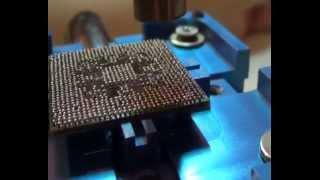 Réparer carte graphique PC portable - Ecran dévisé ou noir.
