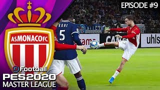 ONE OF MY BEST GOALS EVER! | PES2020 MONACO MASTER LEAGUE #9