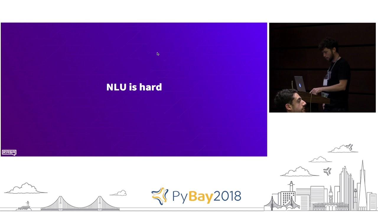 Image from Building Conversational AI w Rasa Stack | Alan Nichol @ PyBay2018