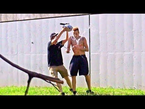 Spraying People Prank- RebelTV