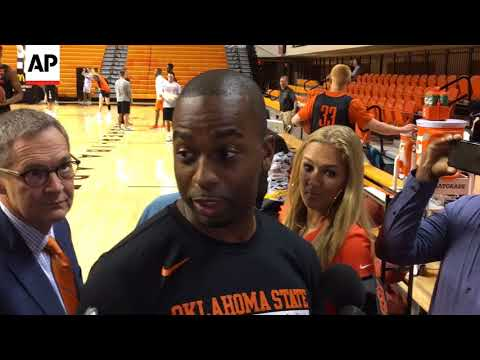 """Oklahoma State Basketball Coach Mike Boynton """"Shocked"""" by Allegations Against Lamont Evans"""