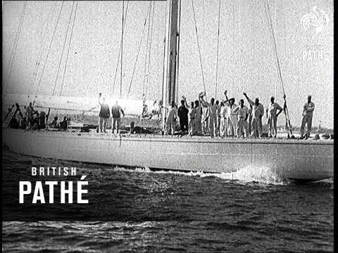 Last Race For America's Cup (1934)