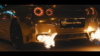 Night Lovell - Off Air / ROSEGOLD GODZILLA GTR SHOWTIME - GMG GARAGE