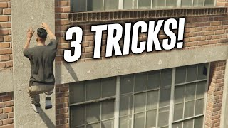 GTA 5 Online: 3 Tricks On GTA 5 Online! (Take Out Doors, Player Launch & Secret Ladder Room)