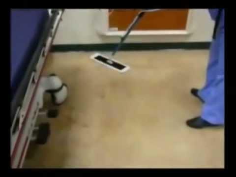 Floor Finish Applicator   Easy Gloss Backpack Applicator