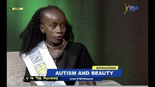 Miss Autism Kenya 2018 Speaks For The First Time On Television