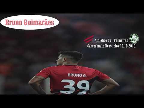 Bruno Guimarães vs Palmeiras
