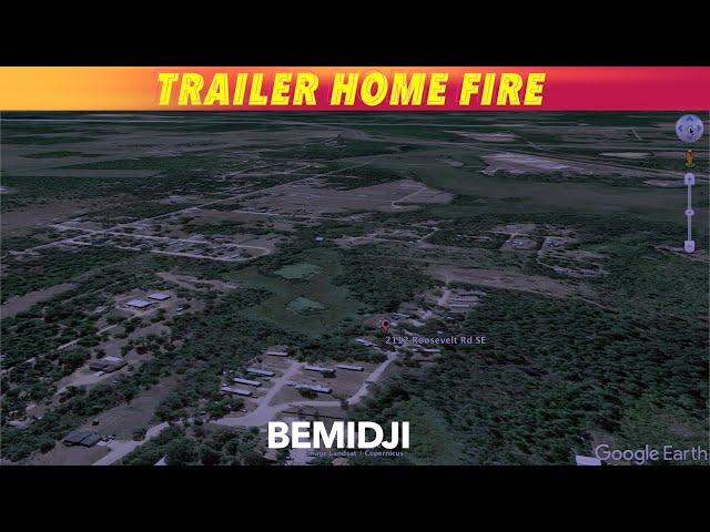 Early Sunday Morning Trailer Home Fire In Bemidji