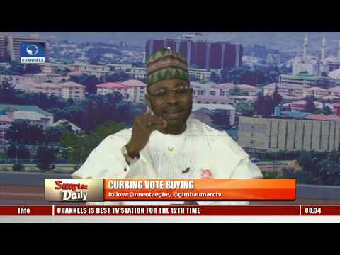 NCP Pres Candidate Yinusa Tanko Highlights Ways To Curb Vote Buying Pt.1