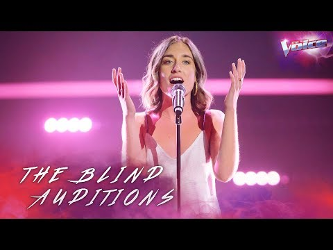 Holly Summers-Clarke sings Sitting On Top Of The World | The Voice Australia 2018