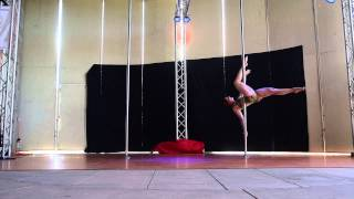 Joy R. 3rd Place Intermediate - 2015 Epic Pole Dance Competition