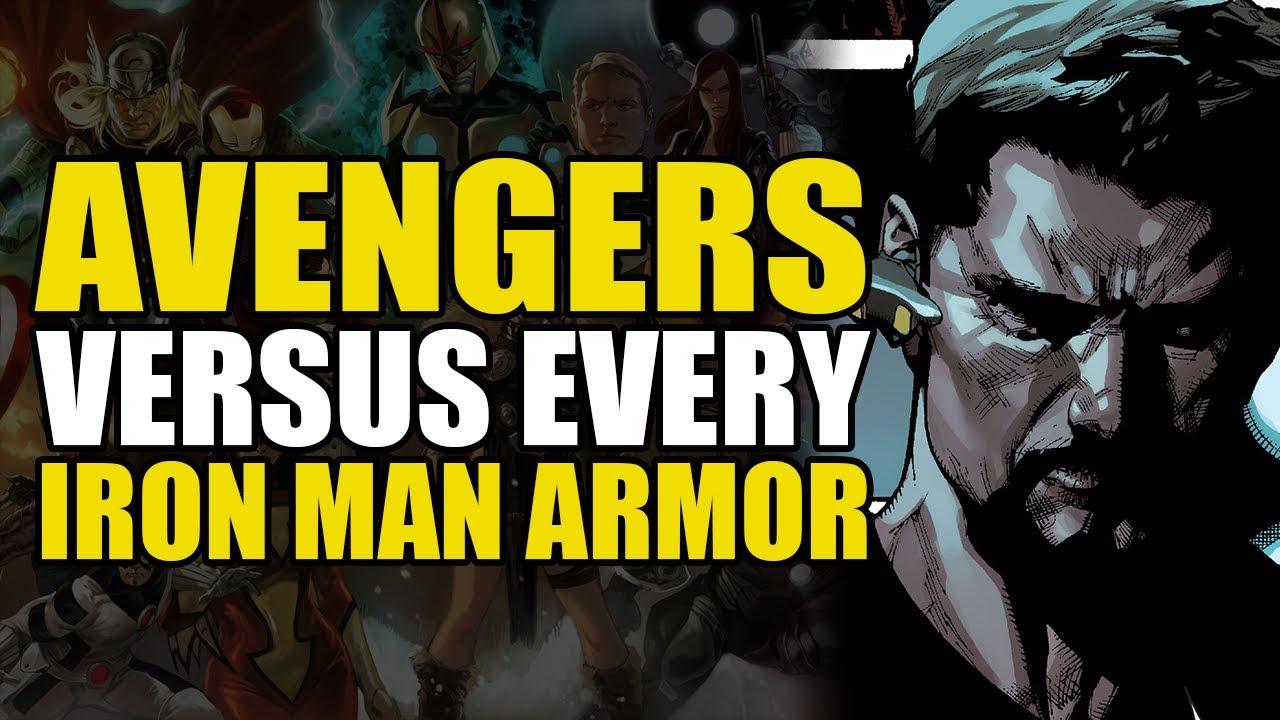 Avengers vs Every Iron Man Armor: Avengers/New Avengers Part 8 Infinite Avengers | Comics Explained
