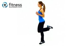HIIT Workout for Fat Loss - FitnessBlender.com