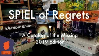 Spiel of Regrets — Fun & Board Games w/ WEM