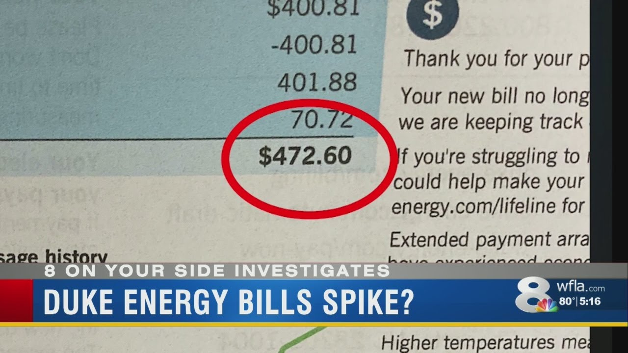 Duke Energy Bill Much Higher This Month This Could Be Why Youtube