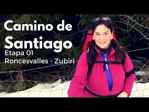 Camino de Santiago: Etapa 1 Roncesvalles Zubiri