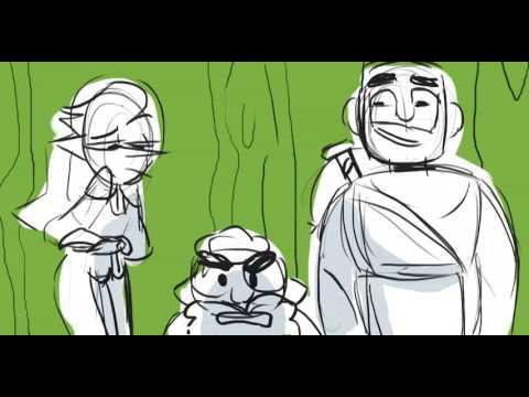 You adventured into the wrong neighborhood (TAZ animatic)