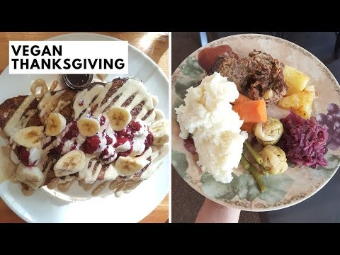 Vegan on Thanksgiving! Delicious Meal Ideas + Recipe!
