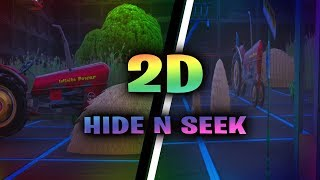 2D Fortnite Hide N Seek! (Map Code Included)