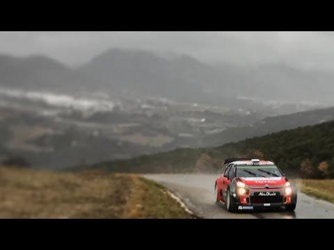 Citroën C3 WRC - Rallye Monte Carlo 2018 Tests - Kris Meeke (HD)