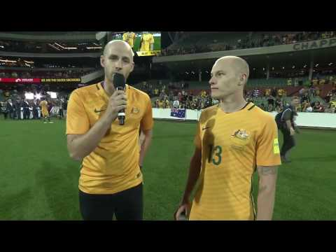 AARON MOOY INTERVIEW