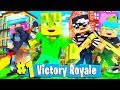 Der ULTIMATIVE PROFI SQUAD     Minecraft FORTNITE  BATTLE ROYALE