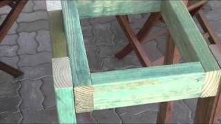 Woodworking S1,ep5 .how To Build A Rolling Stand For A . Sander ,drill Press, Grinder,