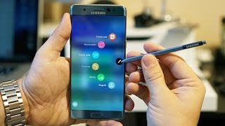Samsung Galaxy Note 7 S Pen In Detail: More Useful Than Ever!