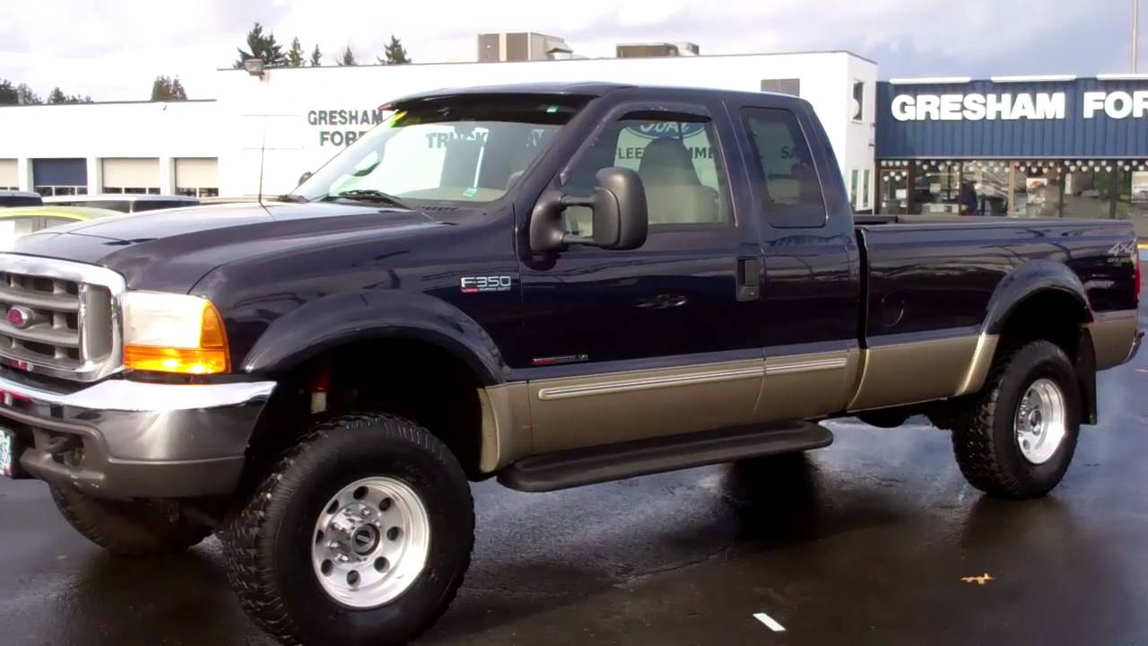 Compare ford 2000 f350 lariat diesel at gresham ford for Ford used motors for sale
